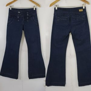STS See Thru Soul Flared Women's Jeans Size 26
